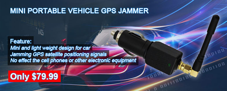 car gps signal jammer