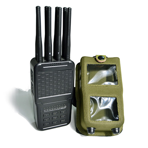 The latest mobile 4G hand signal jammer with a plastic shell
