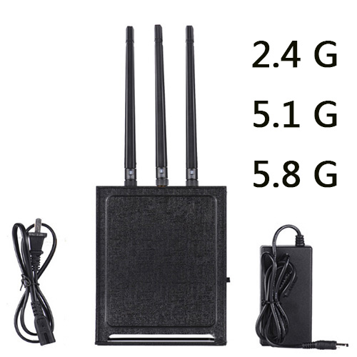 High Quality Powerful Drone Jammer Blocking Wifi 2.4G 5.1G 5.8G