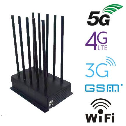 10 Bands Desktop High performance 5G cell phone jammer