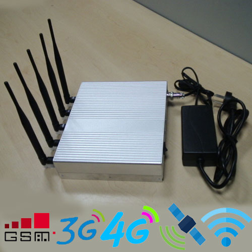 Wifi jammer five-route phone signal jammer