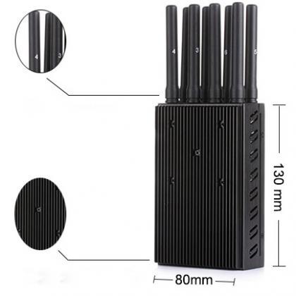 8 antennas multiband phone jammer