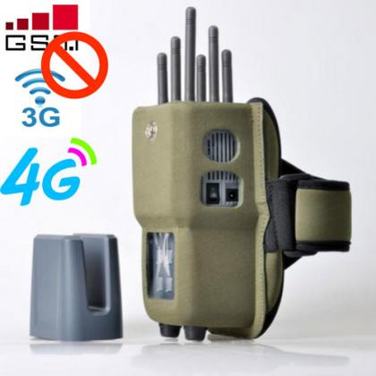Best Selling In-One GSM UMTS LTE4G WiFi GPS Cell Phone Jammer with Antenna Cover
