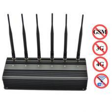 3G 4G CDMA GSM PHS WIFI Blocker High Hower Phone Jammer