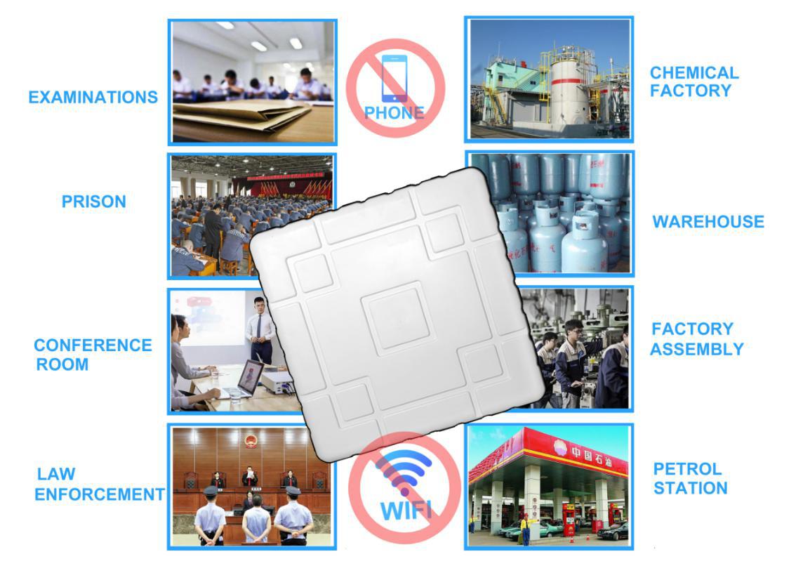 5G telephone signal blocker